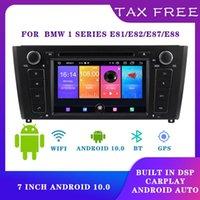 Video de coches 7 pulgadas 1 DIN Radio Carplay Android 10.0 Reproductor multimedia para E87 E81 E82 E88 1Series DSP Auto DC 12V
