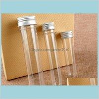 Упаковочные бутылки Office School Business Промышленный 30 мл 40 мл 100 мл прозрачный цилиндрический пластиковый тестовый пробирки