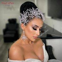Copricapo Youlapan HP389 Trendy Pearl Headband Strass Bridal Hair Tiara Pageant Party Crown Gioielli Ornamenti Accessori da sposa