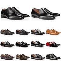 scarpe da uomo in vera pelle designer scarpe da ginnastica rosse di lusso con fondo borchiato scarpe da sera scarpe da ginnastica da uomo