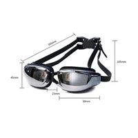 Swimming Glasses Myopia Women Fog Professional Adults Prescription Waterproof Swim Pool Eyewear Optical Diving Goggles qylKae yyysports