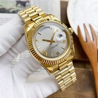 Mens Watch Automatic Mechanical 41mm Fashion Watches Full Stainless Steel Gliding Casp Ladies Wristwatches montre de Luxe Perfect Quality