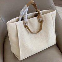 Brand luxury multicolor fashionable woman model big zipper bags shopping tourism office shoulder bag Canvas Polka Dot Letter High-end designer