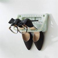 Kleidung Kleiderschrank Aufbewahrung Süßigkeiten Farbe Schuhregal Schrank Organizer Display Creative Home Kunststoff Wand Schuhe Rack Stand Holder Mode