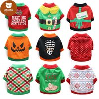 Dog Apparel Christmas Coat Pet Halloween Clothes Soft Warm Puppy Shirt Winter Cloth Yorkies Bulldog Costume For Dogs Cats we
