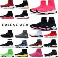 [com caixa] 2021 designer homem mulheres speed trainer 2.0 2 meias botas boot boot sapatos casuais mulheres corredores corredores sneakers 36-45 vdb7 #
