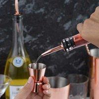 Utensílios de cozinha 15 / 30ml Misturadores de cocktail de aço inoxidável copos de medição de medidas duplas medindo copos de despejo de misturadores