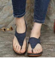 Dress Shoes Women Sandals 2021 Clip Toe Wedges For Summer Sandalias Mujer Beach Casual Heels Platform Flip Flops