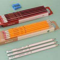Penceaux de peinture Hero Crayon Set Graphite Core HB / 2B Crayon étudiant 12 Art Sky Stylos