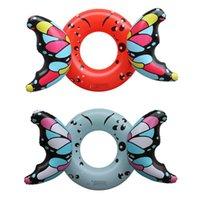 Gonfiabile adulto farfalla nuoto anello galleggiante bambino estate giocattolo giocattolo galleggianti tubi
