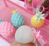 Ananas Anti Stress Spaß Weiche Ananas Ball Reliever Spielzeug Zappeln Squishy Antistress Kreativität Sensorische Kinder Erwachsene Spielzeug