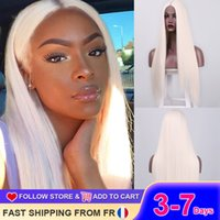 I's a wig Long Straight 60 613 Synthetic Blonde Wigs for Women Middle Part Cosplay Purple Red Brown Wig Fake Hair