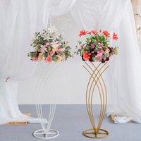 Guirnaldas de flores decorativas 35 cm Peacock Peony Lotus Lotus flor artificial Bola de ramo Decoración de boda Fiesta de boda Volver a la guía de la carretera Cént