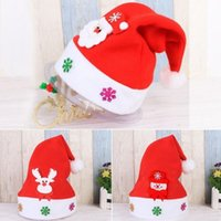 Christmas Decorations LED Light Up Hat Glow Party Headwear Decoration Supplies