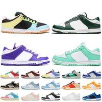 SB Dunk Women Mens Running Shoes 2021 Low Free 99 Spartan Green Flip The Old School Laser Laranja Preto Branco Off Trainers Tênis