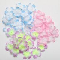 1000pcs / lot 직경 3cm 인공 실크 장미 꽃 벚꽃 웨딩 꽃잎 홈 장식 파티 용품