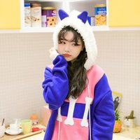 Women's Hoodies & Sweatshirts Princess Sweet Lolita Super Adorable BF Wind Age Dog Loose Version Color Hooded Ears And Long Sleeved VC