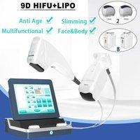 9D HIFU Buzy Zayıflama Ultrason Yüz Bakımı Kırışıklık Temizleme Yüz Germe Yoğunluğu Odaklı Liposonix Güzellik Ekipmanları