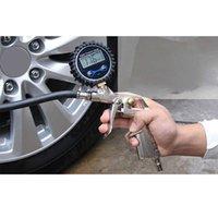 デジタル車EUタイヤ空気圧インフレータゲージLCDディスプレイLEDバックライト車両テスターインフレ監視マノメトロ車