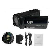 Digital Camcorder Camera Professional with Lens Microphone 1080P HD 16 Million Pixel Handheld DV Shoot