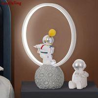 Table Lamps Cartoon Children Room Modern Led Astronaut Lamp Living Bedroom Bedhead Creative Interior Lighting Decoration