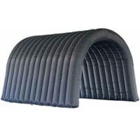 6x3x3.5mh تطهير خيمة نفخ غطاء نفق مع باب النوافذ للاستخدام في الهواء الطلق حزب خيمة سيارة ملجأ