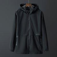 Shan Bao Poche de haute qualité de Trench Homme Trench Coat 2021 Spring Fashion Classic Youth 5XL 6XL 7xL 8xL Sweat à capuche
