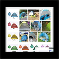 Ripulatori e escursioni Sport all'aperto Sempletents Easy Carry Tende Accessori da campeggio all'aperto 23 persone Tenda per protezione UV per la spiaggia TR