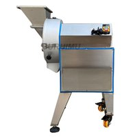 Electric Vegetable Cutter Commercial Automatic Fruit Cutting Machine For Slicer Shredder Potato Radish Cut Section Maker