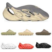2022 Diapositives d'été Femmes Hommes Top Qualité Été Pantoufles Plage Sandales plates intérieures Flip Flop Sandal Santon avec boîte taille 36-45