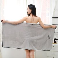 Large Beach Cover Up Bath Towel Wipe Sauna Body Bathrobe Set...