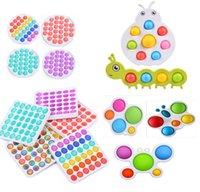 Fidget toys empuje la burbuja antiestresa toys anti-estrés suave sensorial regalo reutilizable squeeze toys regalos el estrés alivio Juegos de la junta
