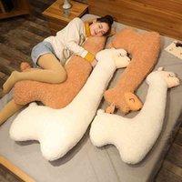 Grande alpaca carina peluche peluche erba erba fango cavallo lavabile bambola dormino cuscino giapponese bambola ragazza