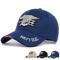 고품질 망 미국 해군 야구 모자 네이비 물개 모자 전술 육군 모자 트럭을위한 Gorras Snapback 모자