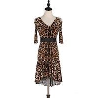 Степень носить латинскую конкуренцию танцевальную юбку женщина практика платья производительность настраиваемые платья Rumba Cha