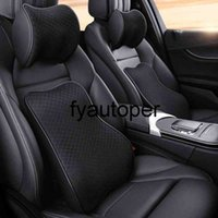 Car Neck Headrest Pillow Cushion Auto Seat Head Support Protector Automobiles Seat Neck Rest Memory Cotton For Office Backrest