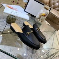 Women Slippers Designer Leather Shoes Man Loafer Popular Fashion Style Lazy People High Quality