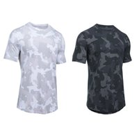 lulu tee Men's T-Shirts Spring and Autumn Elasticity Quick-drying sports fitness yoga top Sweat-absorbent breathable short sleeves lu Outdoor cotton slim fit T-shirt