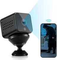 Webcams Camera Mini WiFi Hidden HD1080P Audio Motion Detection Night Vision Nanny Surveillance For Home Indoor Outdoor