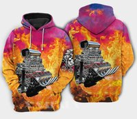 Men's Hoodies & Sweatshirts ROD LIMITED 3D All Print Hoodie Man Women Harajuku Outwear Zipper Pullover Sweatshirt Casual Unisex