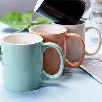 Tasses Cuisine Creative Cuifs Ceramic Universal Couple Cadeau Personnalisé Réutilisable Mignon Taza Desayuno Grande Coupe classique BD50MS