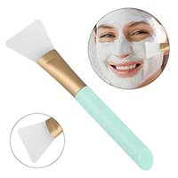 Silicone Face Mask Brush Beauty Tool Soft Facial Mud Applicator Hairless Body Lotion And Butter Eyelash Curler