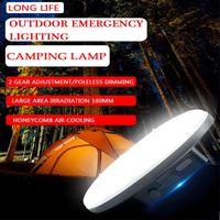 15600 مللي أمبير تحميل متعدد الوظائف المحمولة إضاءة الإضاءة في الهواء الطلق أضواء الطوارئ في الليل الصيد مصباح الصيد الفوانيس الرئيسية