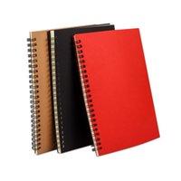 A5 Bobin Notepads Öğrenci Yatay Hattı Dizüstü Yumuşak Kopyalama Kitabı 3 Renk Basit