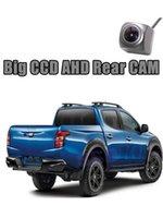 Car Rear View Cameras& Parking Sensors Big CCD Camera For Mitsubishi Triton L200 Strada Strakar Barbarian KJ KK KL Reversing Super Night AHD