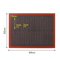 Perforierte Silikon Backmatte Antihaftofen Blatt Liner für Cookie / Brot / Makronen Küche Backformen Zubehör GWE5620