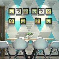 Nordic Ins Wind Wallpaper Decoration Main Material Korean Living Room Bedroom TV Background Wallpaper Q0723