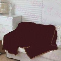 Gedruckt Buchstaben Decken Ins Winter Herbst Flanelldecke 150 * 200 cm Home Reise Auto Stuhlwürfeln Erwachsene Kinder Sofa Deckeln Vintage Multifunktions Barfoot Wurf