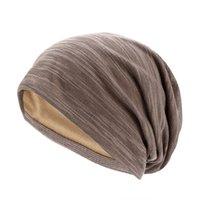 Herfst winter caps ademende katoenen hoofddeksels pure kleur mannelijke en vrouwelijke maand liep pool cap