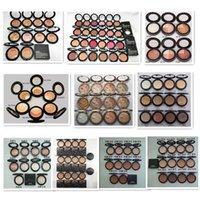 Epack Powder Foundation Profissional Maquiagem Pressionado Pó Fundação com Nome Inglês Mini Ordem Bronzers Highlighter